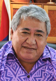 Minister of Foreign Affairs and Trade - Hon Prime Minister Tuilaepa Sailele Malielegaoi