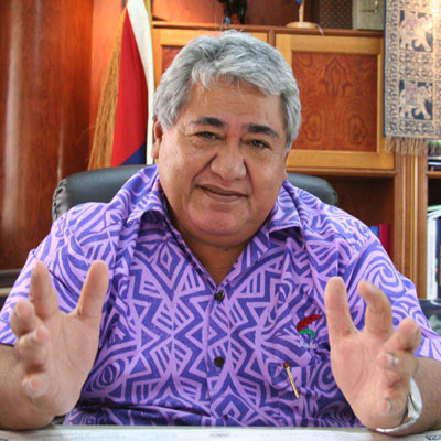 Hon Prime Minister Tuilaepa Sailele Malielegaoi
